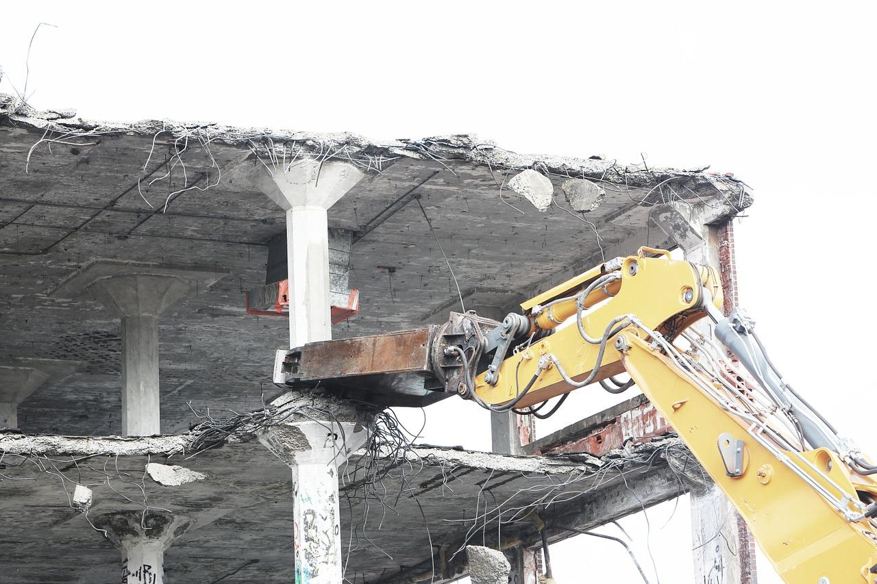 demolish, bulldozer, tearing-498443