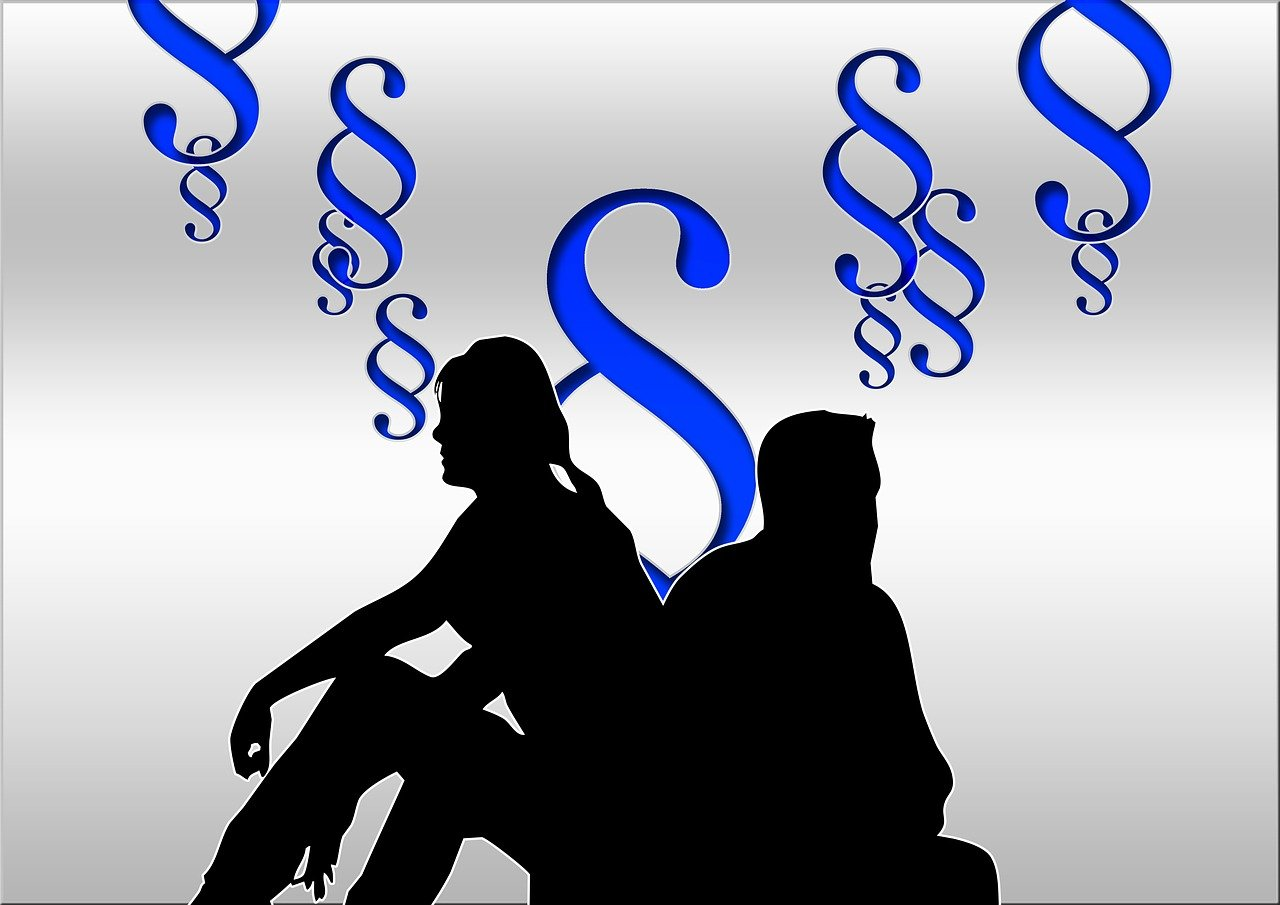family law, divorce lawyer, silhouettes-329569