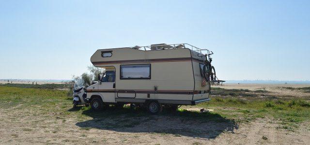 machine, motorhome, trailer