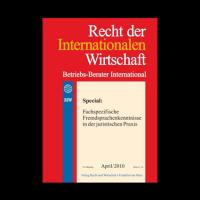 Recht-der-internationalen-Wirtschaft