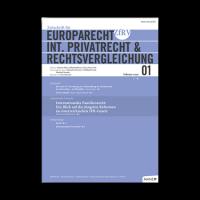 Zeitschrift-fuer-Europarecht-Internationales-Privatrecht-und-Rechtsvergleichung
